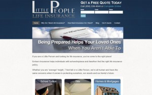Insurance Agent Website Design