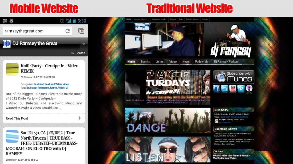 San Diego Mobile Website Developers