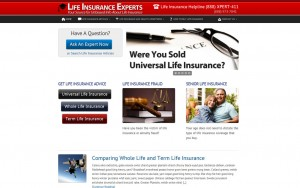 Web Design for Insurance Agents
